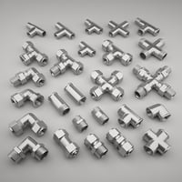 3D pipe fittings