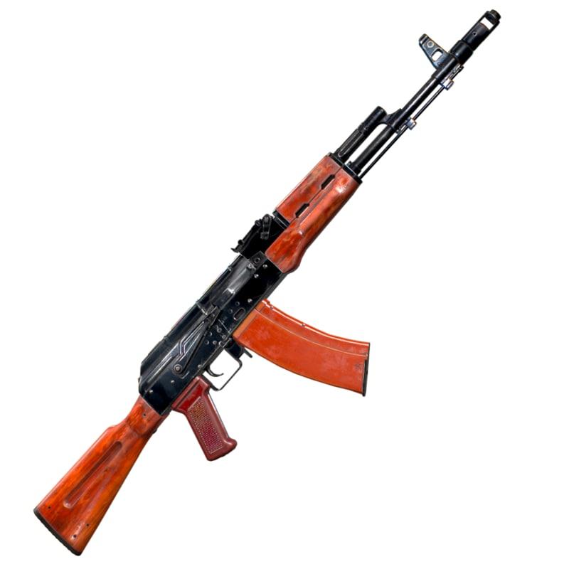 3D model rifle
