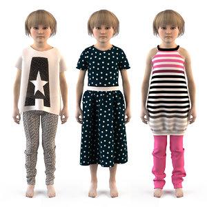 3D child children