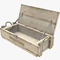 ammo crate open v2 3D model