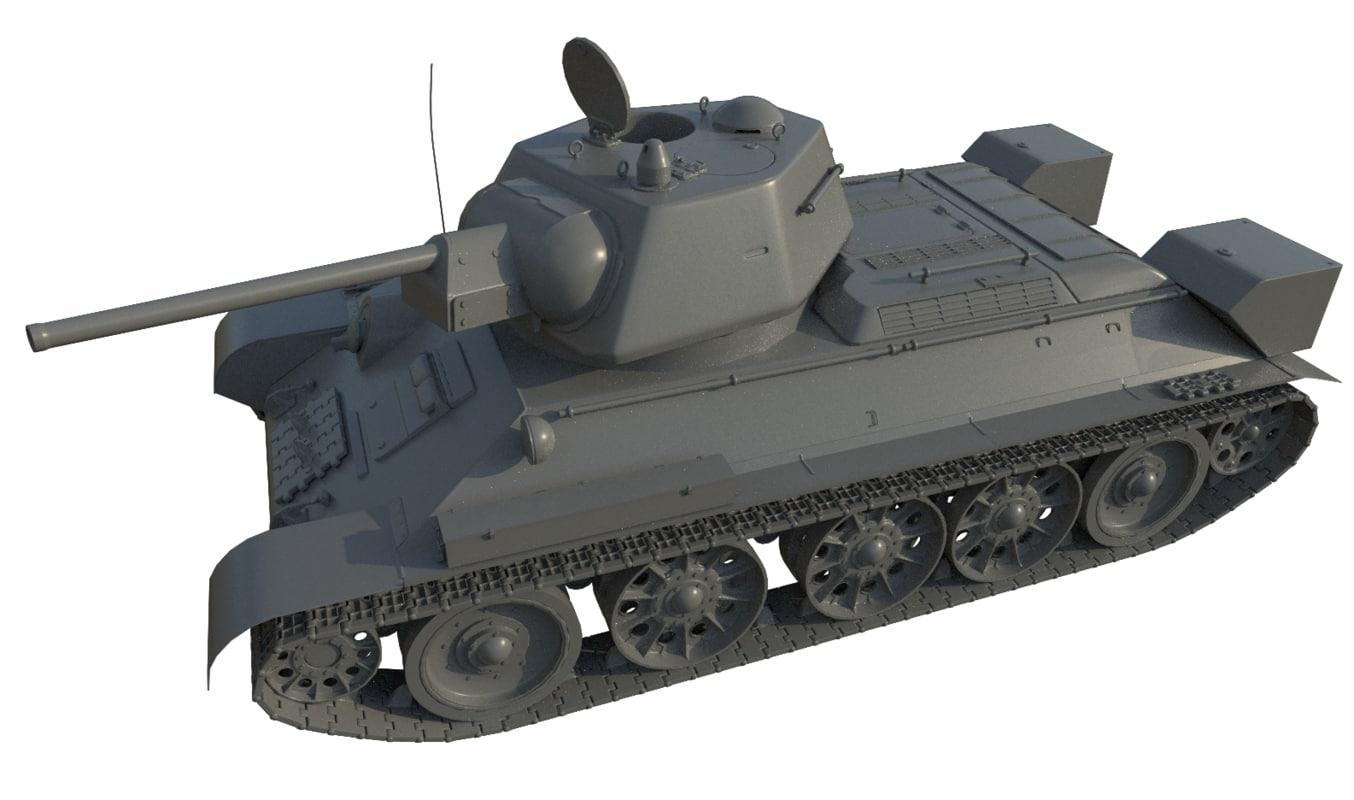 t-34 tank model