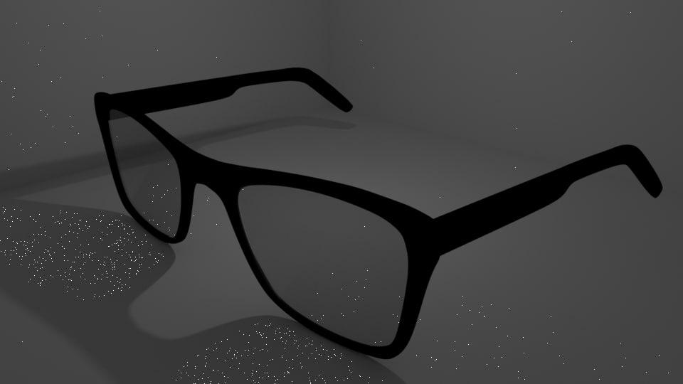 glasses simple 3D model