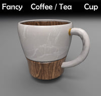 3D simple cup model