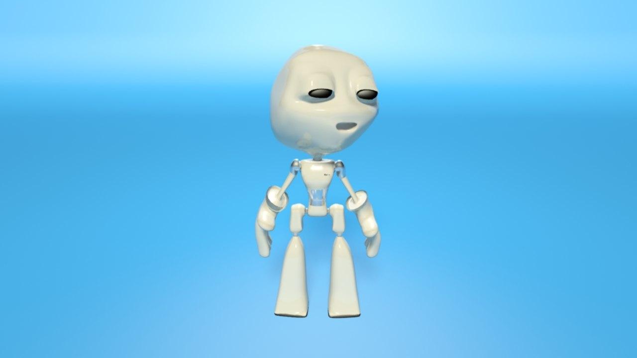 robot oolim 3D model