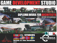 3D project studios development games model
