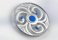 spinner fidget spin 3D model