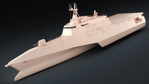 3D uss independence lcs-2