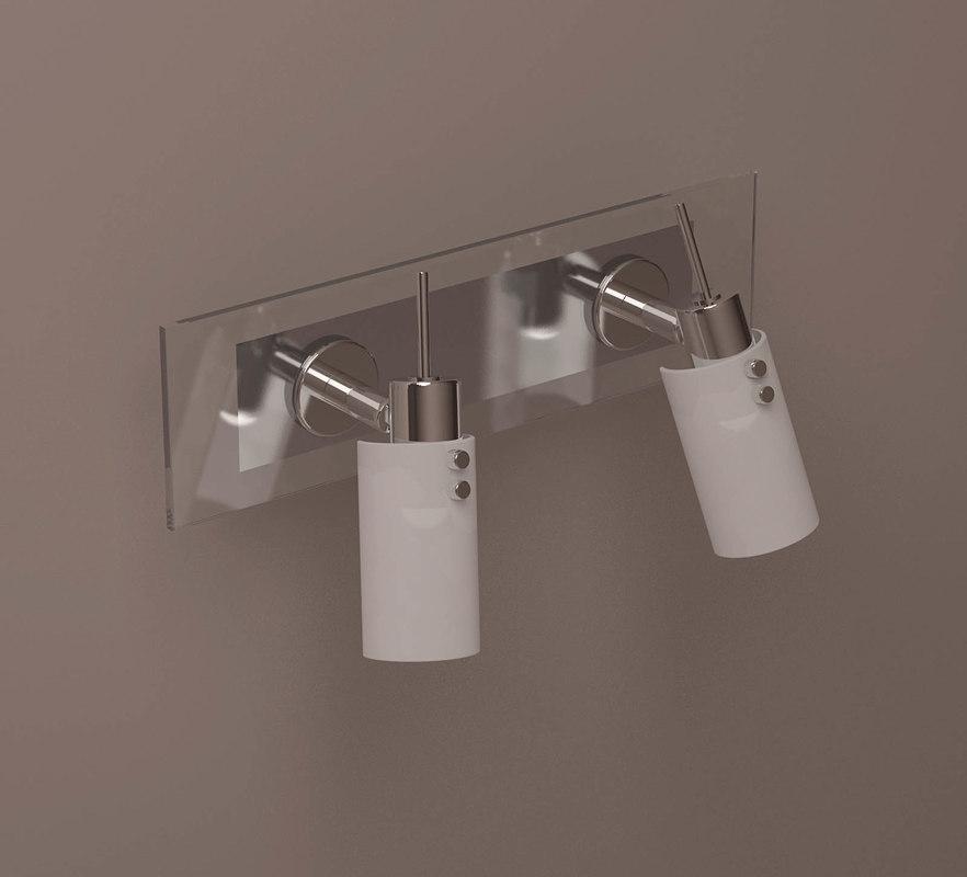 simple stylish lamp 3D