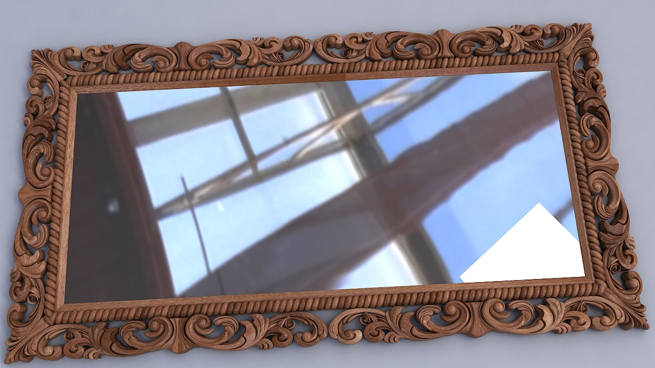 mirror furniture 3D model