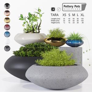 3D pottery pots