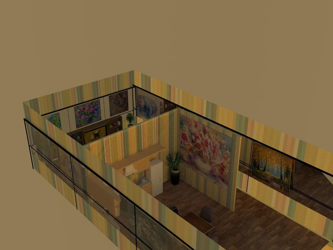 rooms model