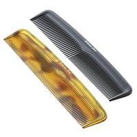 3D model combs amber