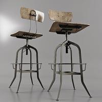 Antique Toledo chair