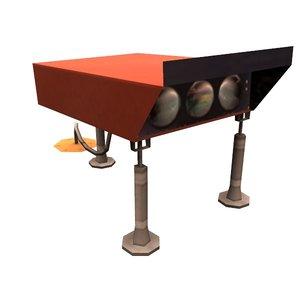 3D model papi indicator