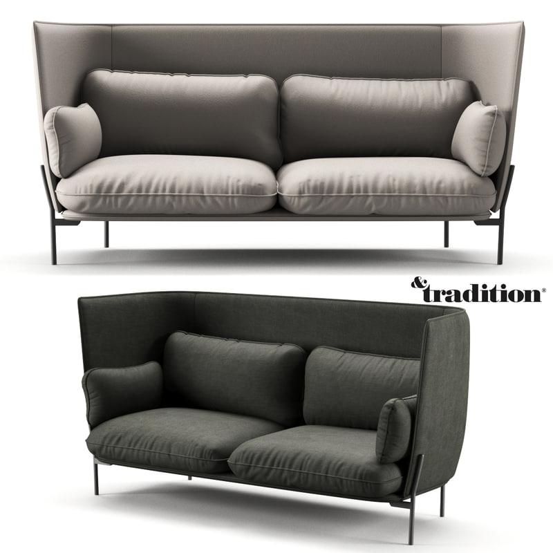 sofa tradition 3D model
