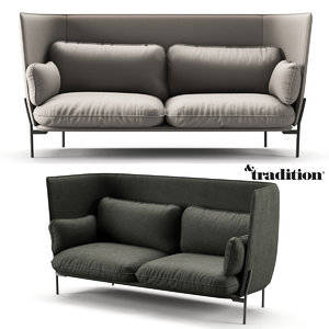 sofa tradition 3D model