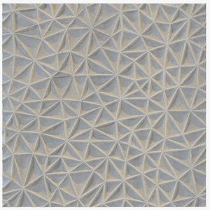 3D decorative seamless wall panel