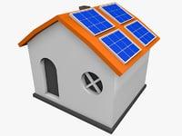 solar house 03 3D model