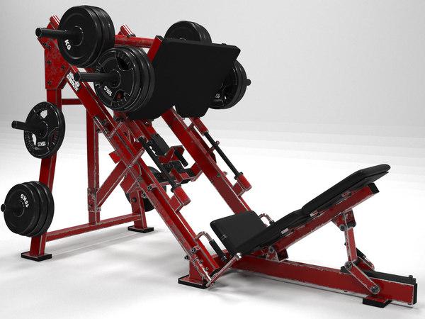 3D leg strength