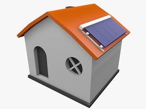 solar house 04 model
