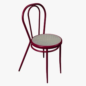 3D metallic viennese chair