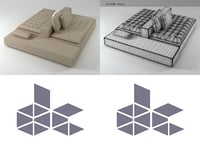 3D model domino 7