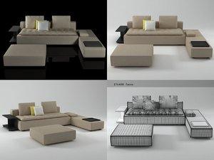 domino 6 3D model