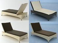marrakesh beach chair 3D model