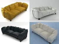 3D corbeille sofa model
