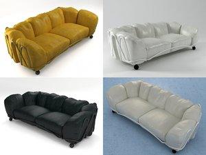 3D corbeille sofa model