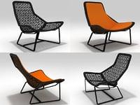 maia lounge chair model