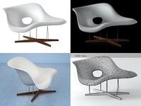 3D la chaise