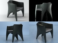 phoenix armchair 3D