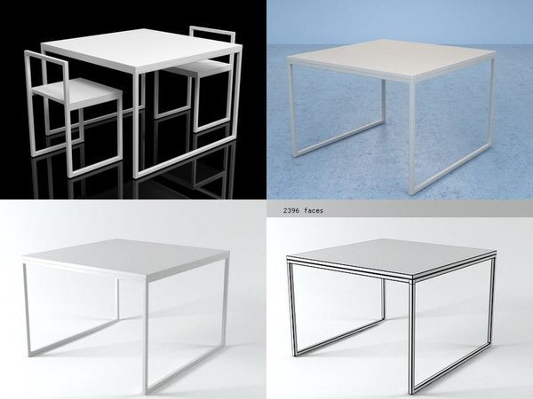 Free Table 3D Models for Download | TurboSquid