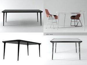 showtime table 3D model