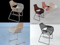 3D showtime chair model
