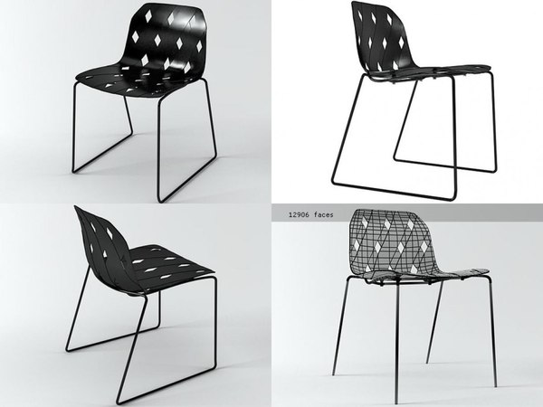 chair 02 3D model