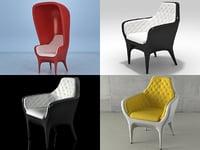 3D showtime armchair model