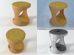 3D stool n