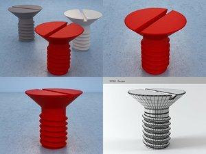 3D screw table