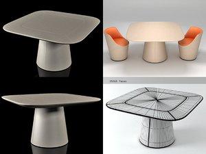 3D mammut table model