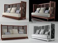 3D suzy wong sofa