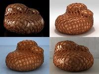 tricot 3D model