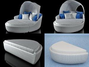 lounge chair footstool n model