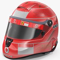 3D helmet michael schumacher 2006