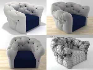 nubola armchair 3D