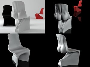 chairs 3D model