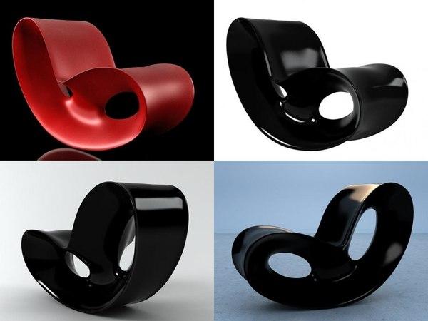 voido rocking chair model