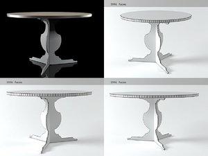 3D bieder zanotta model