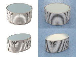 3D model lolah coffee tables